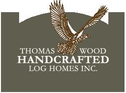 Thomas Wood Log Homes Logo Example of ALT tag